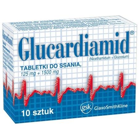 GLUCARDIAMID 10 TABLETEK DO SSANIA