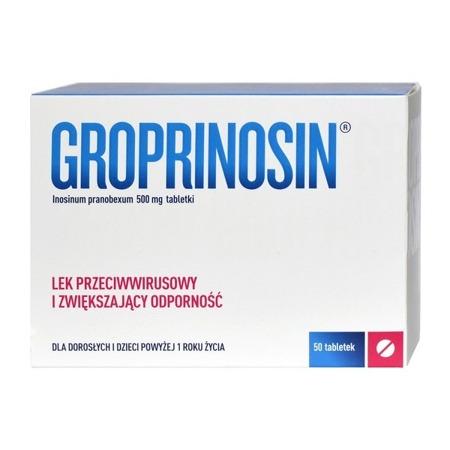 GROPRINOSIN 500MG 50 TABLETEK