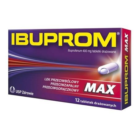 IBUPROM MAX 12 TABLETEK